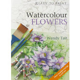 Ready To Paint Watercolour Flowers